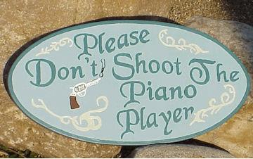 non sparate pianista